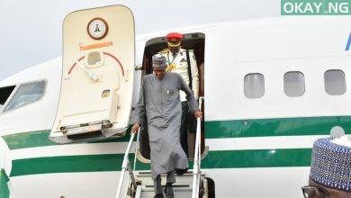 Buhari Abuja Saudi Arabia okay ng 1 390x220 - Buhari returns to Abuja after OIC Summit in Saudi Arabia [Photos]