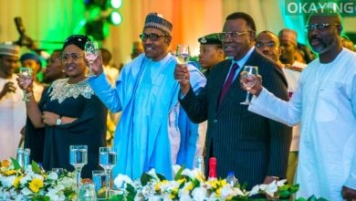 Buhari World leaders okay ng 1 390x220 - Democracy Day: Buhari hosts world leaders to dinner, gala night in Aso Rock [Photos]