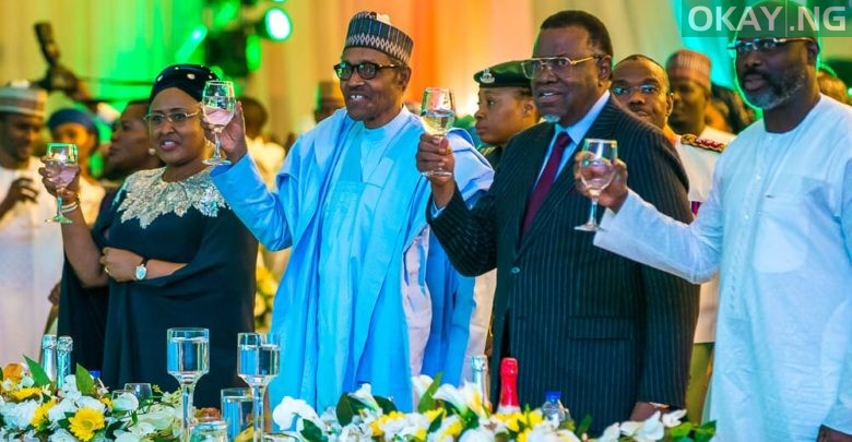 Photo of Democracy Day: Buhari hosts world leaders to dinner, gala night in Aso Rock [Photos]