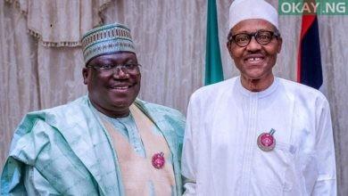 Ahamed Lawan and Muhammadu Buhari