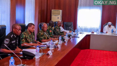 Buhari security chief okay ng 390x220 - Buhari hold closed door meeting with governors, security chiefs