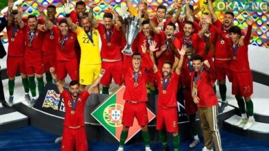 D8pf 9LXsAErb37 390x220 - Portugal beat Netherlands 1-0 to clinch UEFA Nations League title