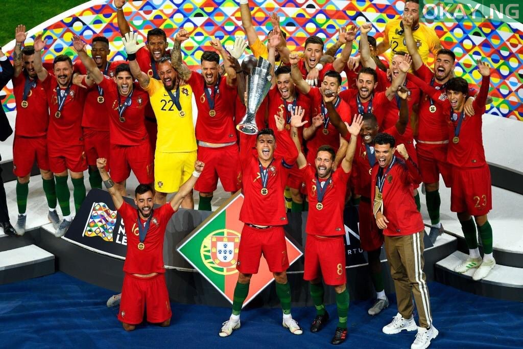 D8pf 9LXsAErb37 - Portugal beat Netherlands 1-0 to clinch UEFA Nations League title