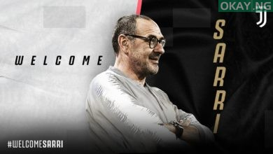 D9LyqzAXYAAEuKs 390x220 - Maurizio Sarri confirmed as Juventus new head coach