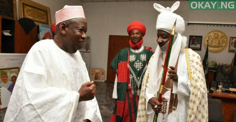 Photo of Emir Sanusi accepts Ganduje's appointment as Kano council chiefs chairman