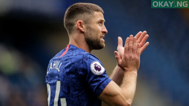 Gary Cahill 390x220 - Chelsea sends farewell message to Cahill as the Premier league club part ways with the 33-year-old