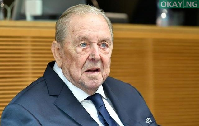 Photo of Champions League founder, Lennart Johansson, dies aged 89