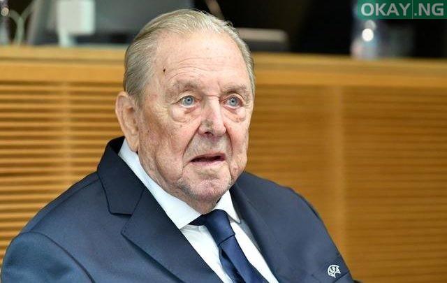 Photo of Champions League founder, Lennart Johansson, dies aged 89