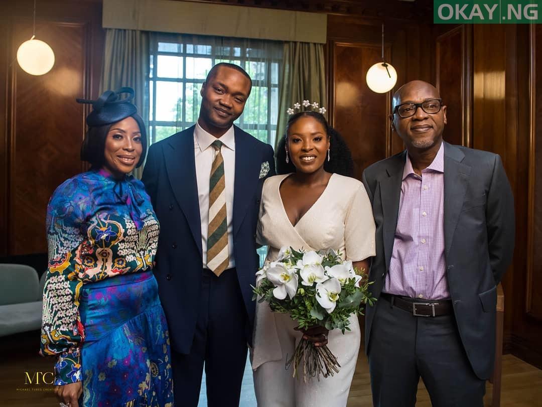 Mo Abudu daughter's wedding 1 - See Photos of Mo Abudu daughter's wedding in London court