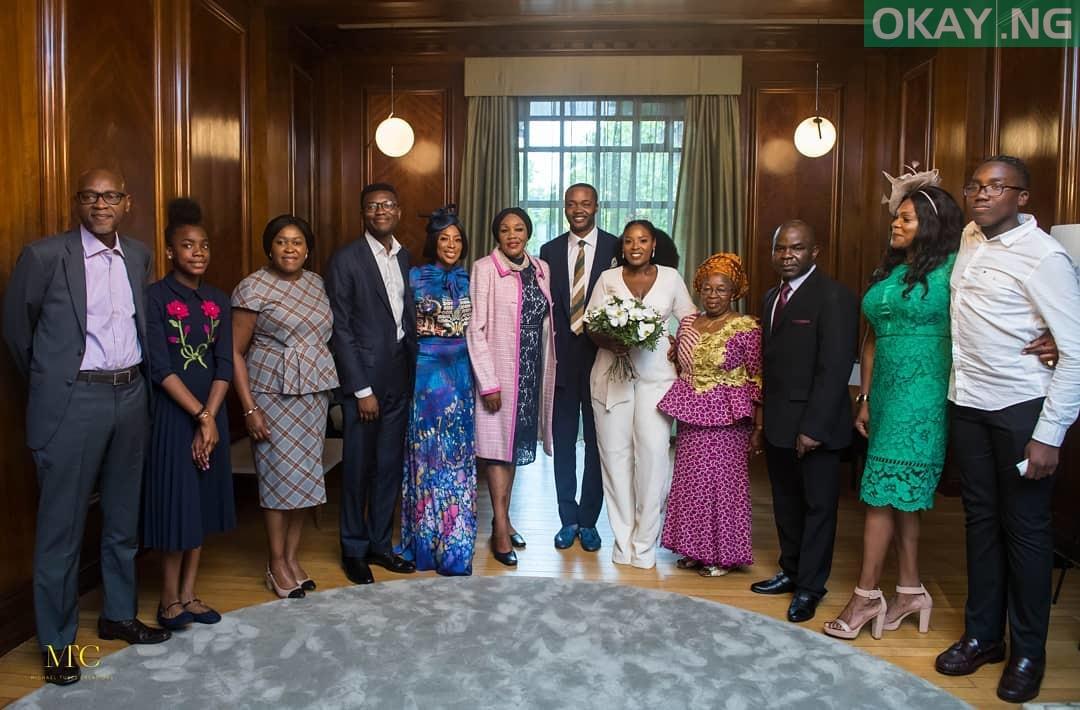 Mo Abudu daughter's wedding 2 - See Photos of Mo Abudu daughter's wedding in London court