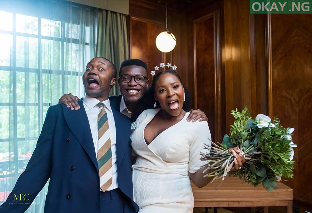 Mo Abudu daughter's wedding 4 - See Photos of Mo Abudu daughter's wedding in London court