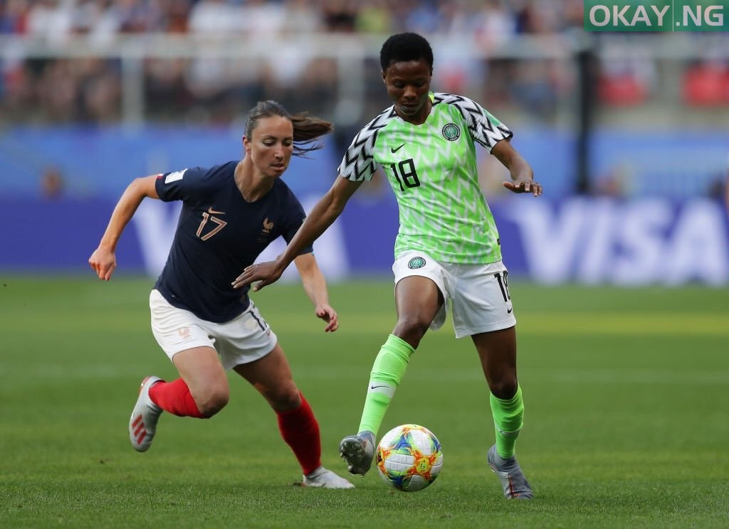 Photo of Nigeria's Super Falcons suffer 0-1 defeat against France