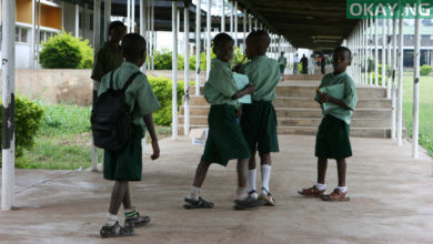 Oyo school students