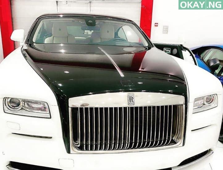 Rolls - Dbanj buys a brand new Rolls Royce for his birthday [See Photo]