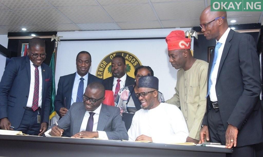 Sanwo Olu 2019 budget okay ng - Sanwo-Olu signs N873bn Lagos 2019 budget into law