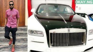 Dbanj buys a brand new Rolls Royce for his birthday