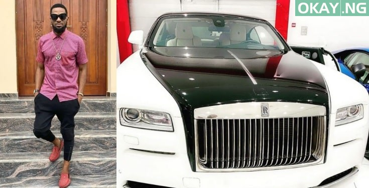 Photo of Dbanj buys a brand new Rolls Royce for his birthday [See Photo]