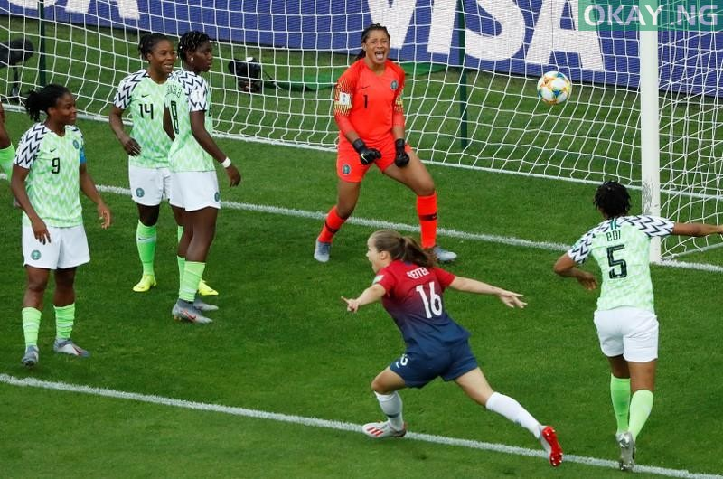 Super falcons norway okay ng - FIFA Women's World Cup: Norway beats Nigeria's Super Falcons 3-0