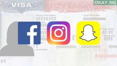 US visa application social media okay ng 390x220 - Visa applicants to be asked for social media details - US Department of State