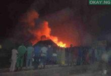 market makurdi okay ng 220x150 - Fire guts 200+ shops in Makurdi modern market
