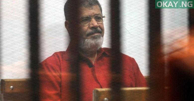 Photo of Egypt's former president, Mohamed Morsi, dies in court