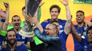 Chelsea manager, Maurizio Sarri