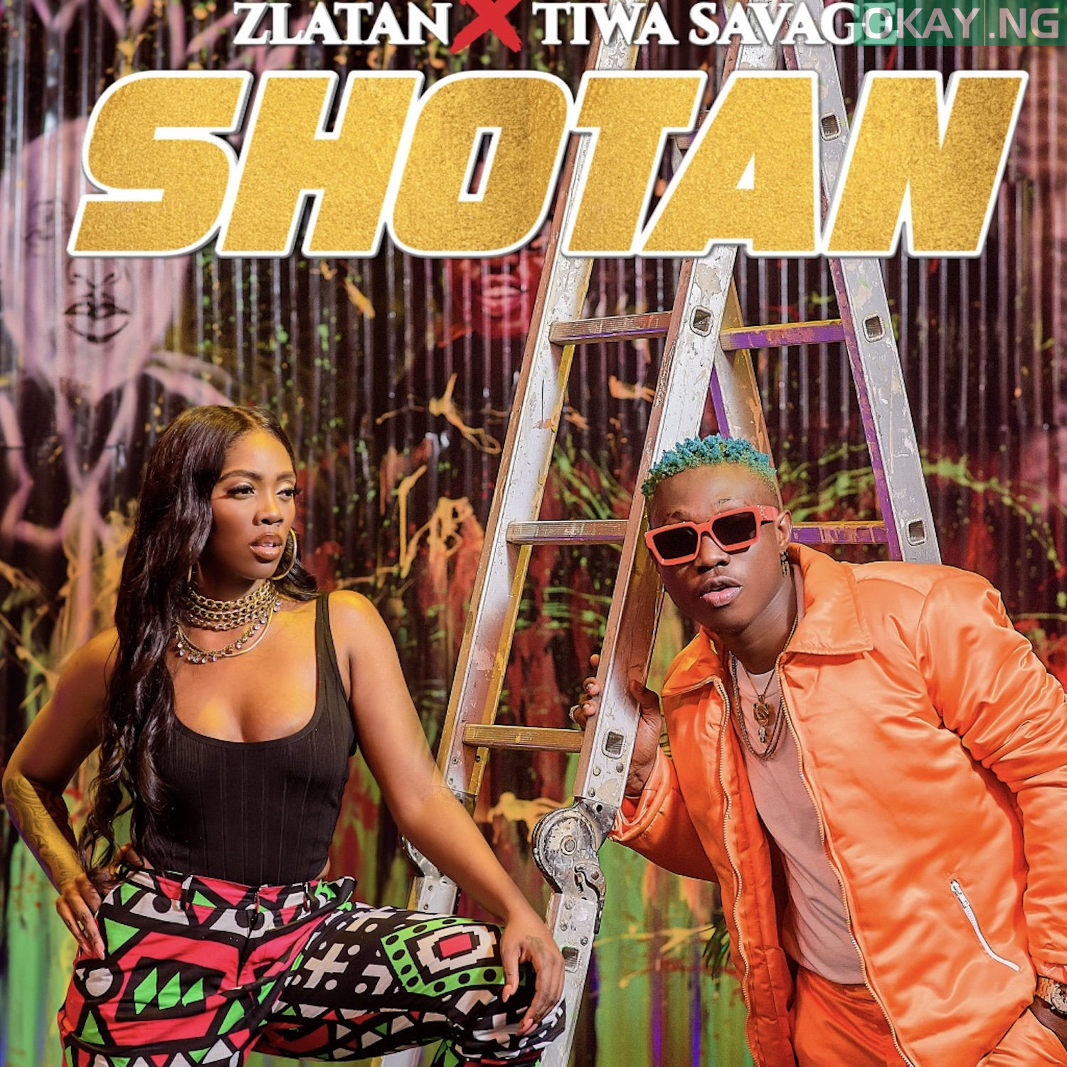 01 Shotan mp3 image - Zlatan teams up with Tiwa Savage for new song, 'Shotan' [Audio]