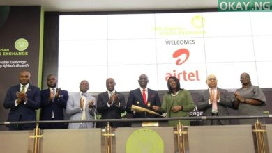 Airtel Africa Plc lists on Nigerian stock Exchange Okay ng 390x220 - Airtel completes listing on Nigerian Stock Exchange