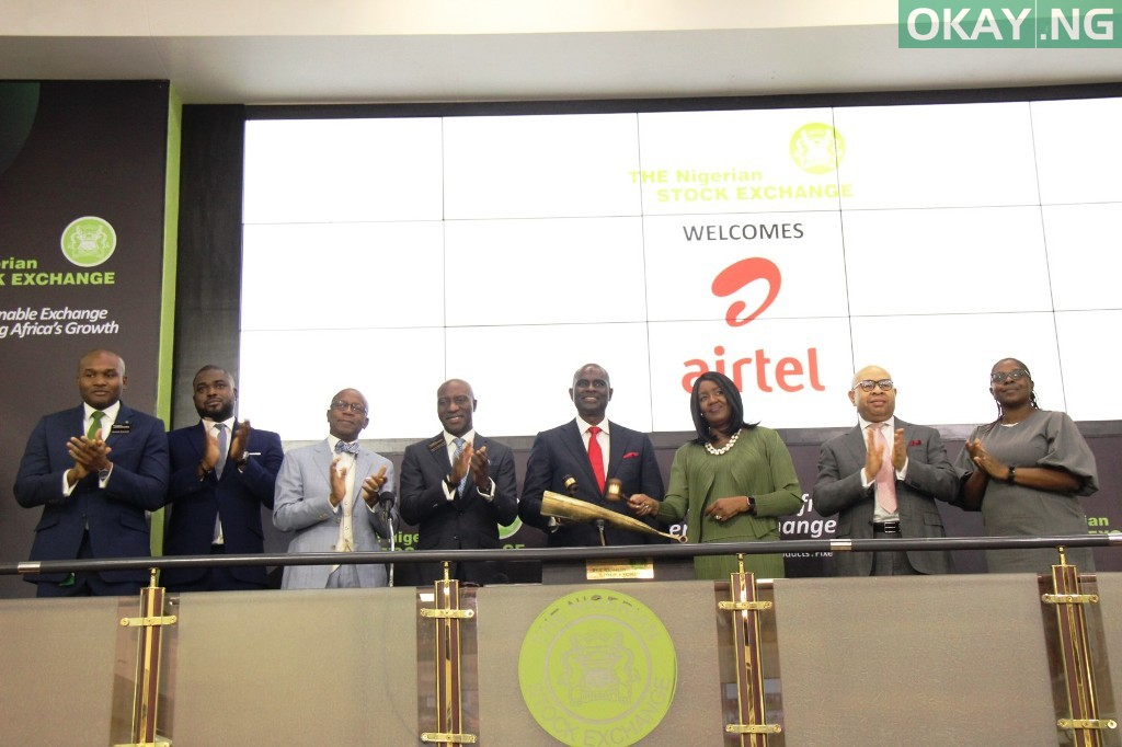 Airtel Africa Plc lists on Nigerian stock Exchange Okay ng - Airtel completes listing on Nigerian Stock Exchange