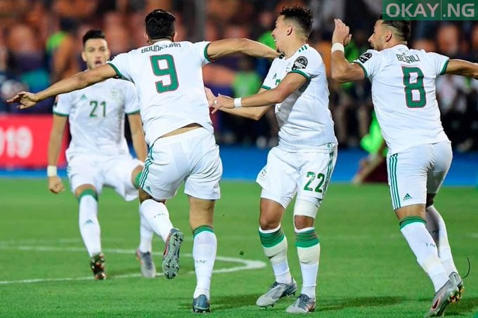 Algeria AFCON - Algeria defeats Senegal to win 2019 Africa Cup of Nations