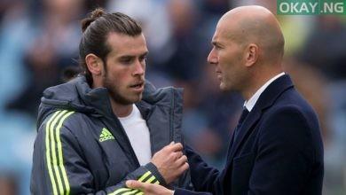 Bale and Zidane