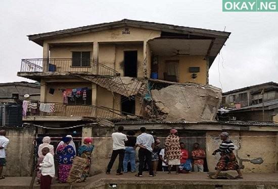 Bariga building collapse