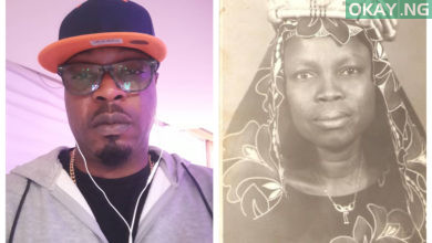BeFunky collage 390x220 - Nigerian hip hop singer, Eedris Abdulkareem Loses 96-year-old Mother