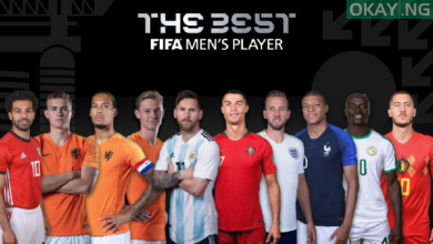 Best 11 FIFA Okay ng 390x220 - List of nominees for 'Best FIFA Men's Player' 2019 released [See Names]