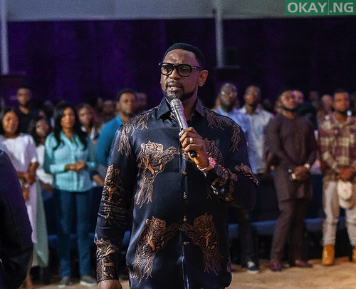 Photo of COZA Board of Trustees member tenders resignation letter to Biodun Fatoyinbo