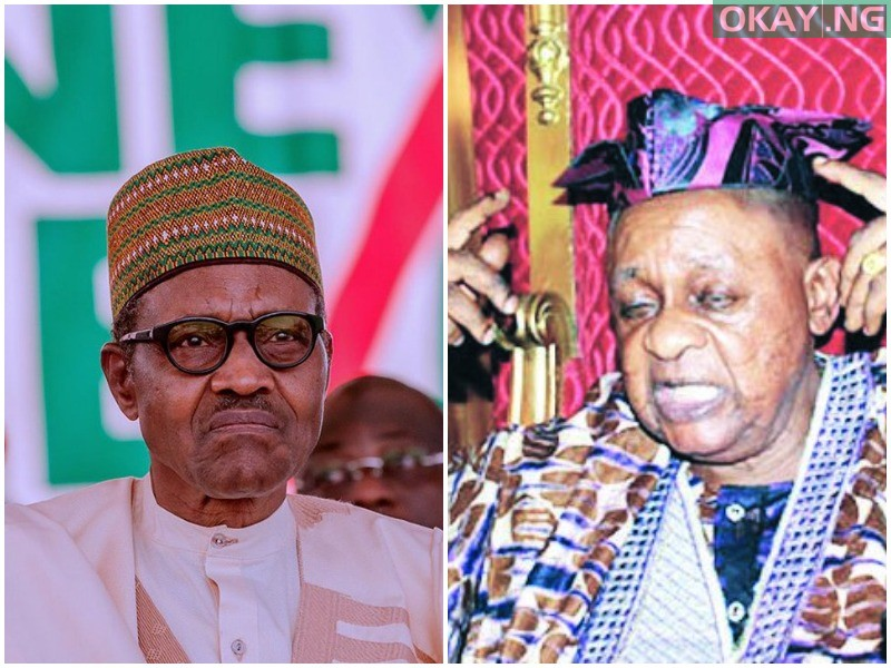 Photo of Alaafin writes letter to Buhari over insecurity issue