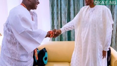Buhari Ooni of Ife Okay ng 1 390x220 - Buhari receives Ooni of Ife in State House [Photos]