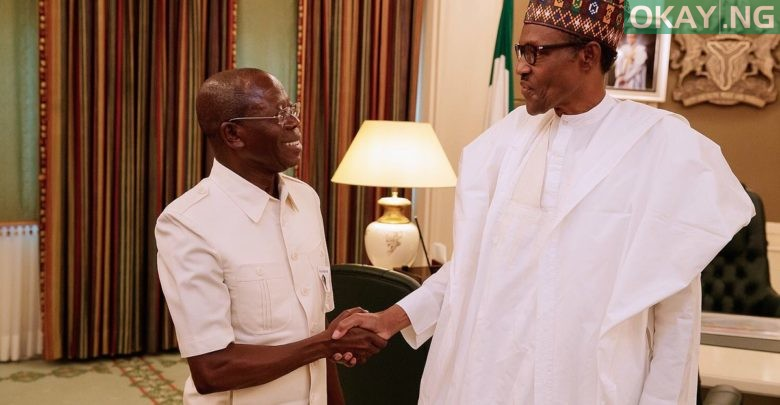 Photo of Buhari is no longer 'Baba go slow', says Oshiomhole