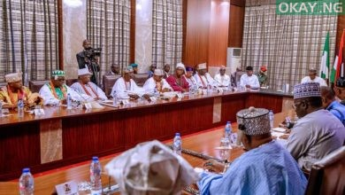 Buhari South West Obas Okay ng 3 390x220 - FG moves to install CCTV on highways to combat insecurity