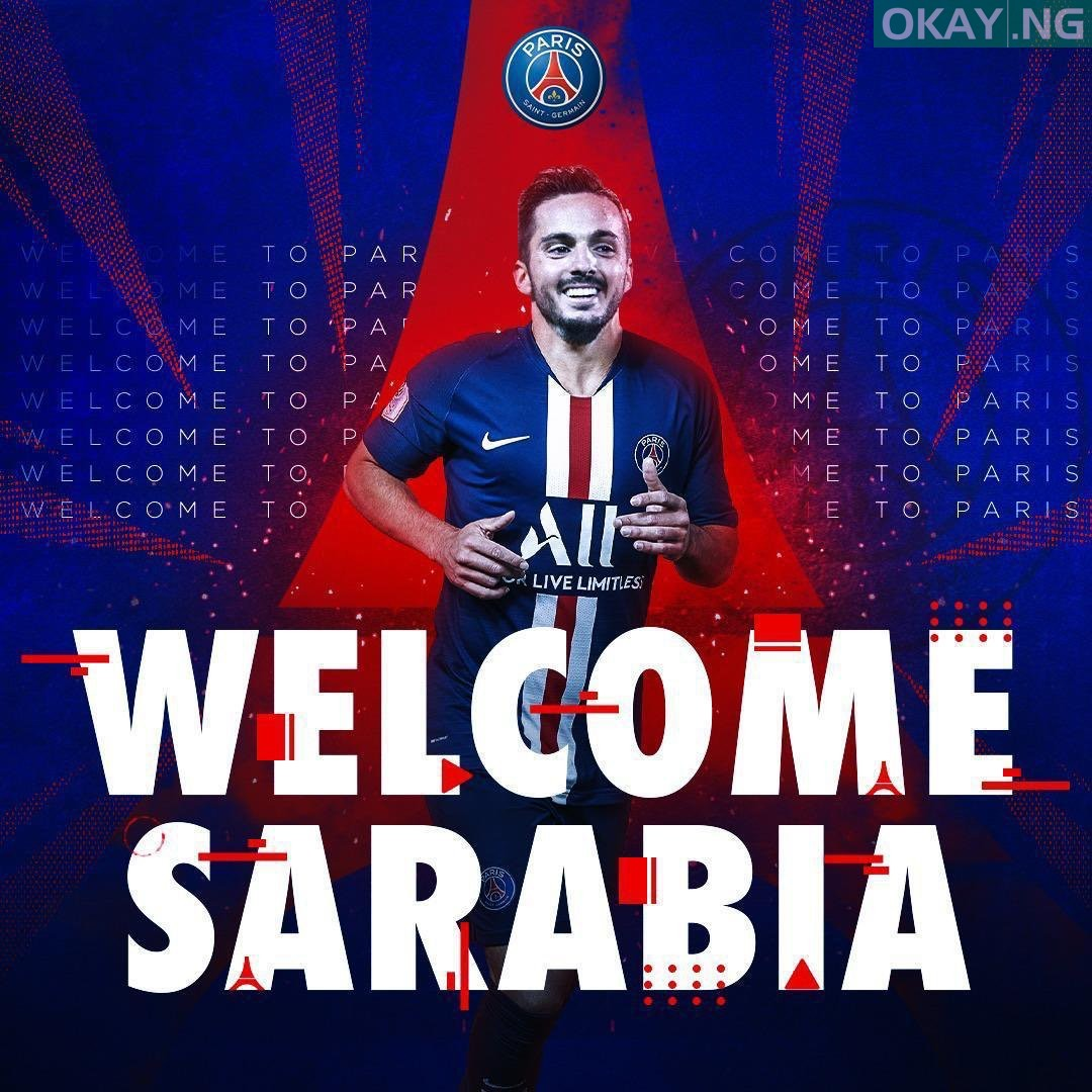 Photo of Pablo Sarabia joins Paris Saint-Germain from Sevilla for €20m