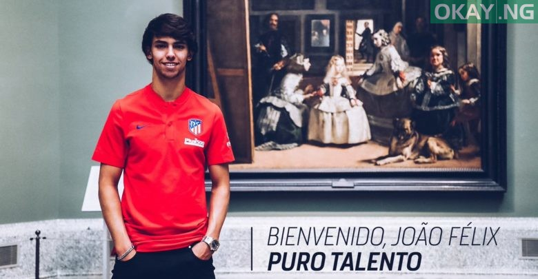 Photo of Joao Felix joins Atletico Madrid from Benfica for £113m