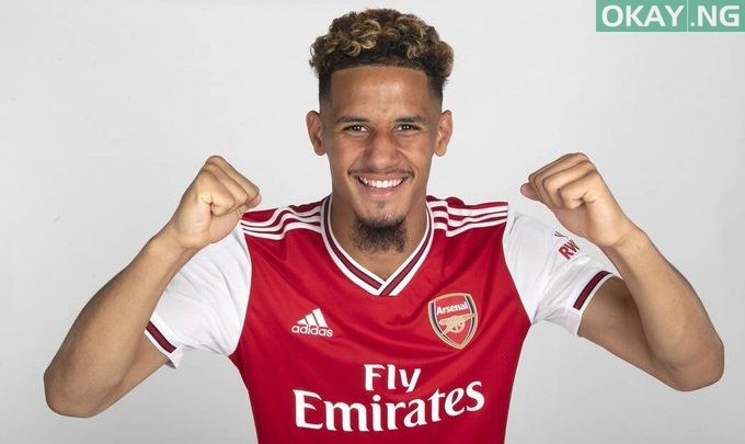 Photo of William Saliba joins Arsenal from Saint-Etienne for €30m