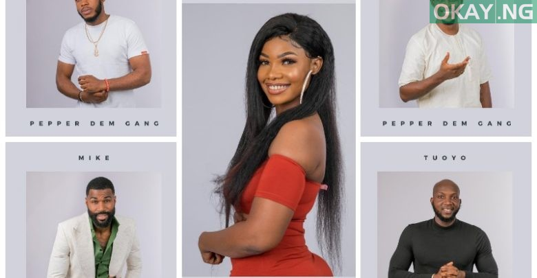 Photo of BBNaija 2019: Meet the five housemates nominated for eviction this week