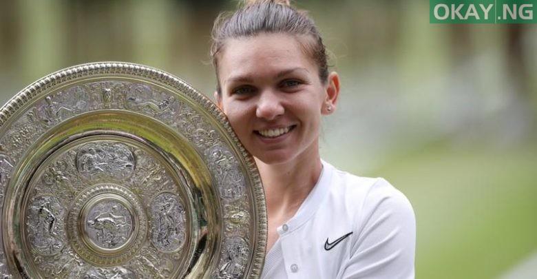 Photo of Simona Halep wins Wimbledon title against Serena Williams