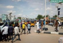 Keke Damaturu 1 220x150 - Tricycle riders, policemen clash in Damaturu [Photos]