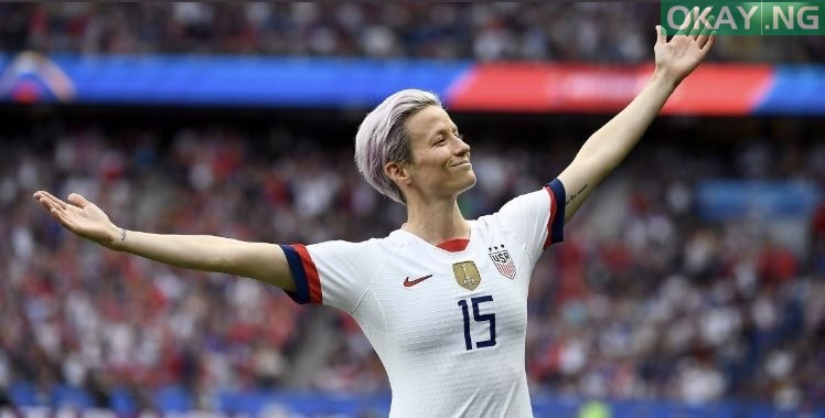 Photo of Rapinoe speaks as USA wins fourth FIFA Women's World Cup