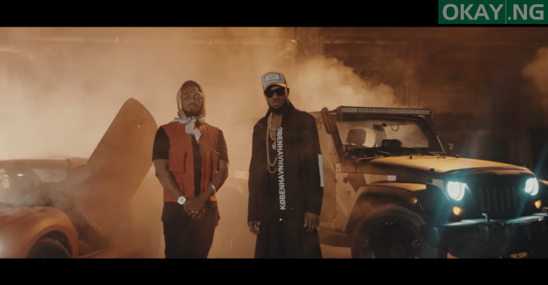 Photo of D'banj features Slimcase on 'Mo Cover Eh' [Watch Video]
