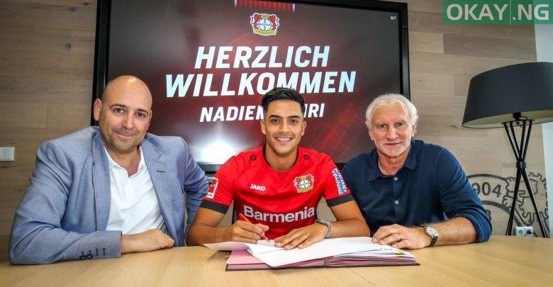 Photo of Nadiem Amiri completes €14m move to Bayer Leverkusen from Hoffenheim