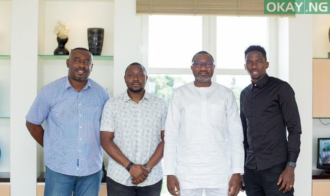 Photo of Otedola redeems $25,000 per goal pledge to Super Eagles in