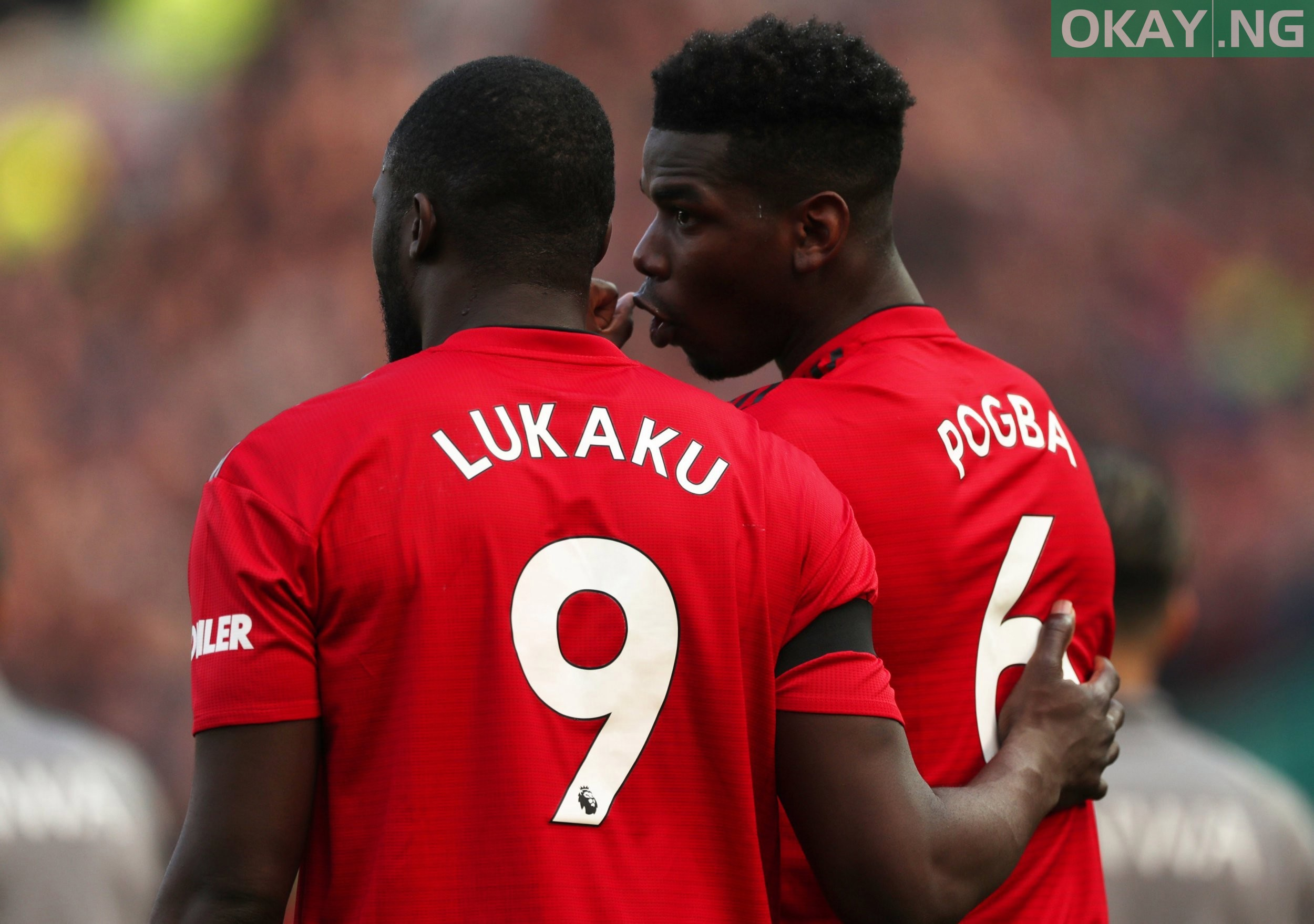 Pogba and Lukaku